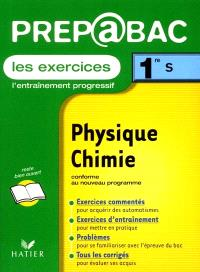 Physique chimie, 1re S : exercices