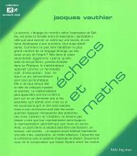 Echecs et maths