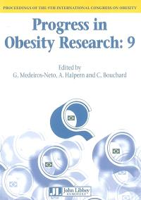 Progress in obesity research 9 : proceedings of the 9th International Congress on obesity, Sao Paulo, 2002
