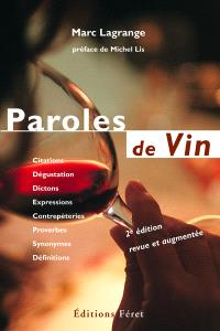 Paroles de vin