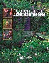 Le calendrier du jardinage