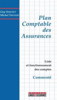 Le plan comptable des assurances commenté : liste et fonctionnement des comptes