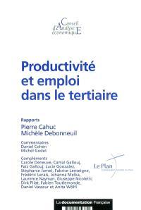 Productivité et emploi dans le tertiaire : rapports