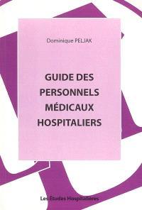 Guide des personnels médicaux hospitaliers