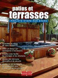 Patios et terrasses  : projets étape par étape