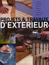 Projets et travaux d'extérieur : terrasses, fontaines, dallages, pergolas, clôtures, aires de jeux, barbecues
