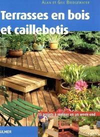 Terrasses en bois et caillebotis : 15 projets pour embellir votre jardin expliqués pas à pas, à réaliser en un week-end