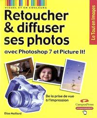Retoucher et diffuser ses photos avec Photoshop 7 et Picture It