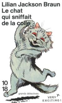 Le chat qui sniffait de la colle