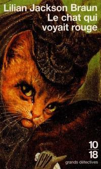 Le chat qui voyait rouge