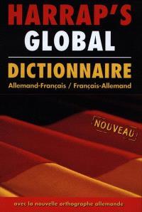 Harrap's global allemand-français, français-allemand