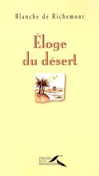 Eloge du désert