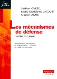 Les mécanismes de défense : théorie et clinique