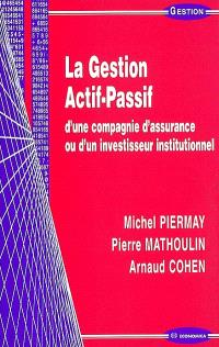 La gestion actif-passif d'une compagnie d'assurance ou d'un investisseur institutionnel