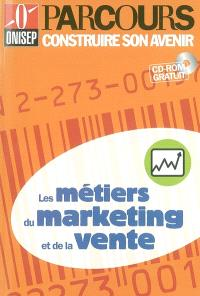 Les métiers du marketing et de la vente