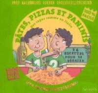 Pâtes, pizzas et paninis des frères Pastissimo