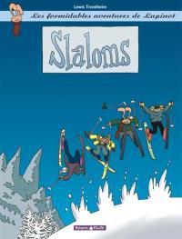 Les formidables aventures de Lapinot. Volume 0, Slaloms