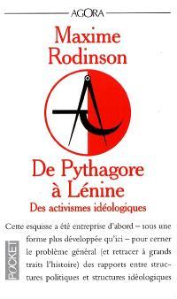 De Pythagore à Lénine : des activismes idéologiques