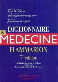 Dictionnaire de médecine Flammarion