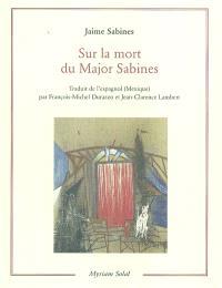 Sur la mort du Major Sabines