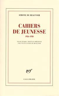 Cahiers de jeunesse : 1926-1930