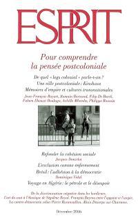 Esprit. n° 330, Pour comprendre la pensée postcoloniale
