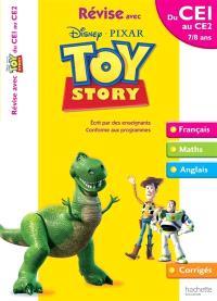 Révise avec Toy story du CE1 au CE2, 7-8 ans