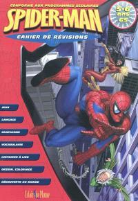 Spiderman cahier de révisions, maternelle grande section, 5-6 ans