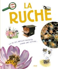 La ruche : la vie des abeilles racontée comme une histoire...