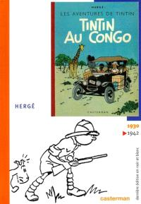 Les aventures de Tintin et Milou en noir et blanc