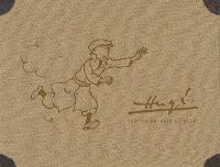 Hergé : édition en noir et blanc