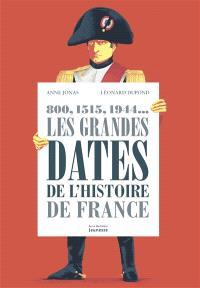 800, 1515, 1944... : les grandes dates de l'histoire de France
