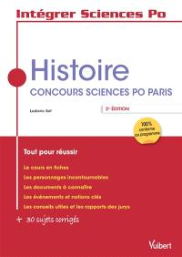 Histoire : concours Sciences Po Paris