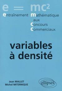 Variables à densité