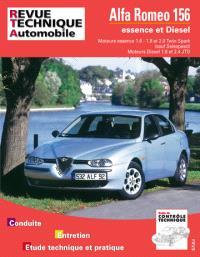 Revue technique automobile. n° 627.1, Alfa Romeo 156 essence et diesel