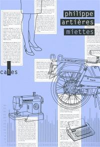 Miettes : éléments pour une histoire infra-ordinaire de l'année 1980