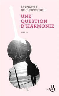 Une question d'harmonie