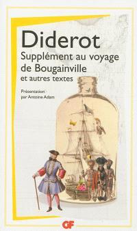 Supplément au voyage de Bougainville; Précédé de Pensées philosophiques; Lettre sur les aveugles