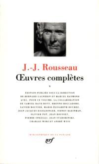 Oeuvres complètes. Volume 5, Musique, langage, histoire, sciences
