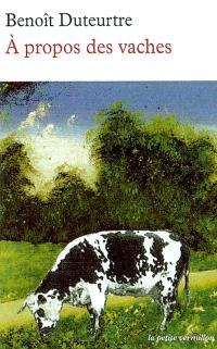 A propos des vaches