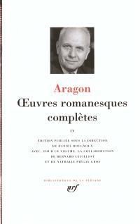 Oeuvres romanesques complètes. Volume 4