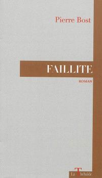Faillite