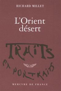L'Orient désert