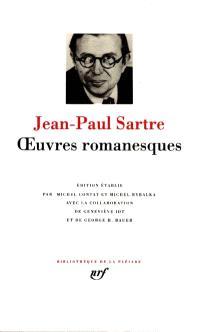 Oeuvres romanesques de Jean-Paul Sartre