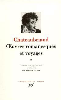 Oeuvres romanesques et voyages. Volume 2