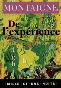 De l'expérience : livre III, chapitre 13 (les Essais)
