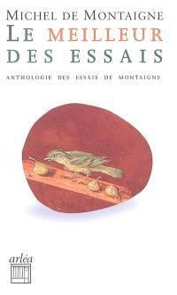Le meilleur des Essais : petite anthologie des Essais de Montaigne