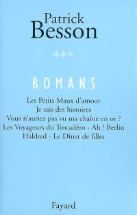 Romans. Volume 3