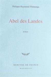 Abel des Landes