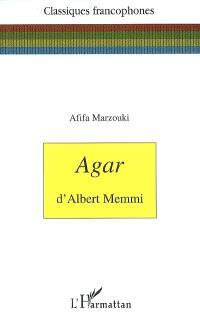 Agar d'Albert Memmi